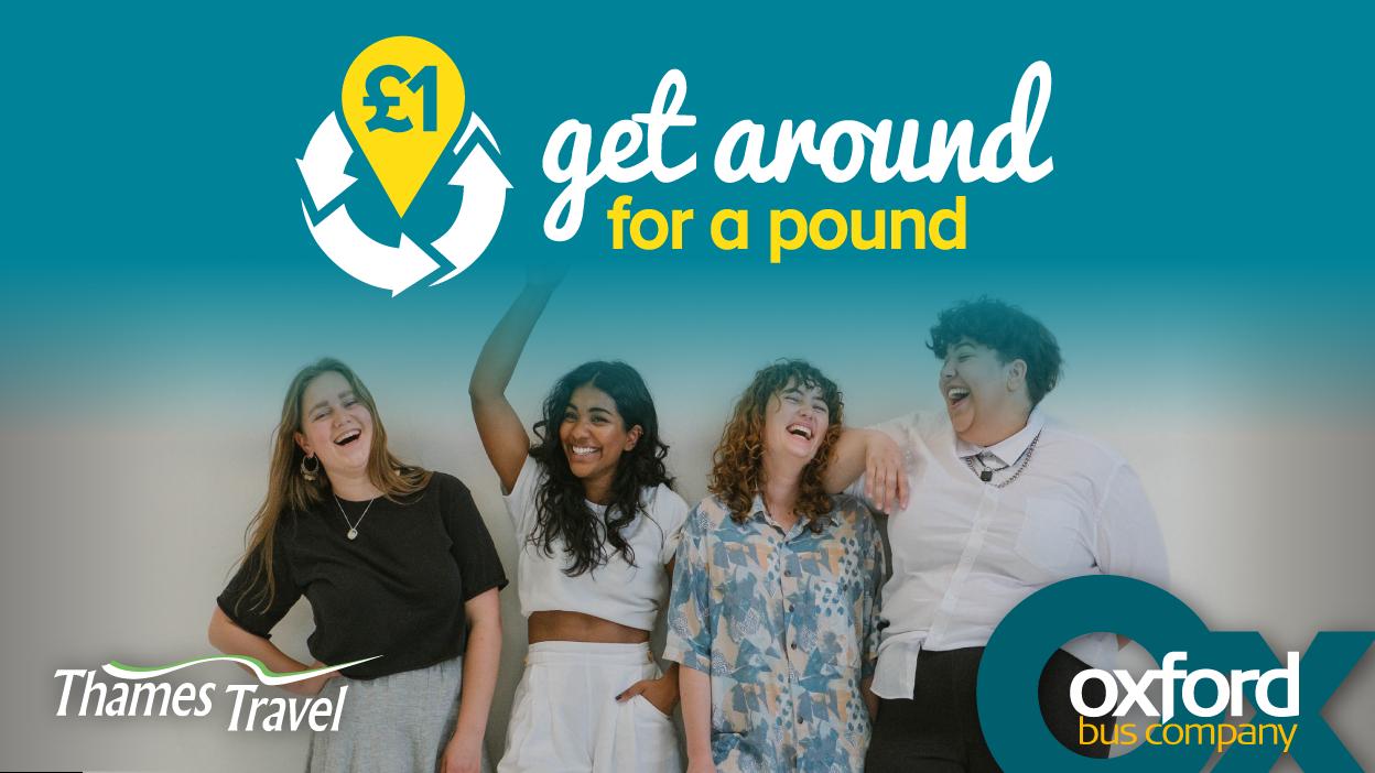 Get around for a pound