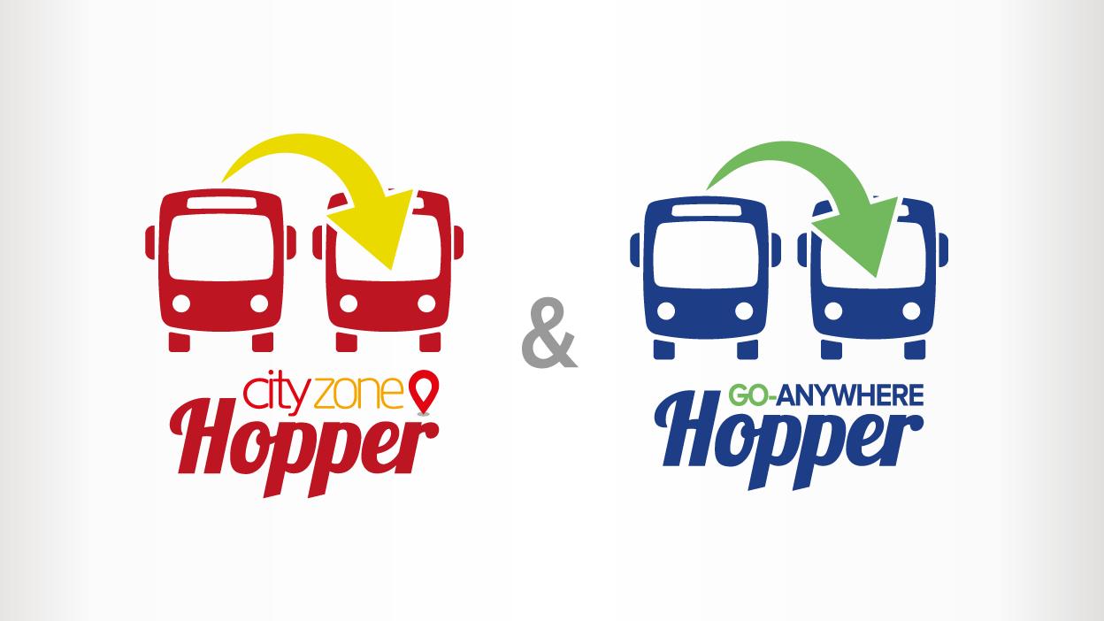 Hopper tickets logos