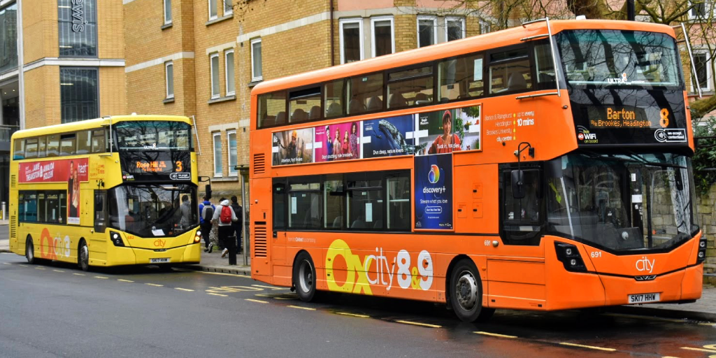 Oxford Bus Company buses