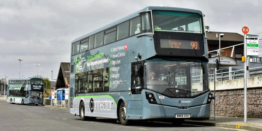 Thames Travel bus